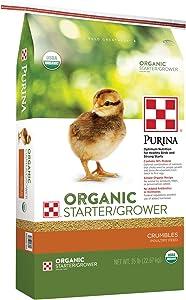 Purina Organic Starter-Grower, 35 lb