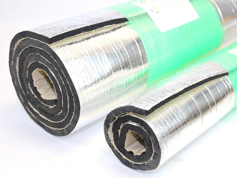 GlassMAT ZR Foil Foam Insulation Sound Deadening Mat Self Adhesive Thermal Roll for Campervan 4x4 5m x 1m Van 30mm Car