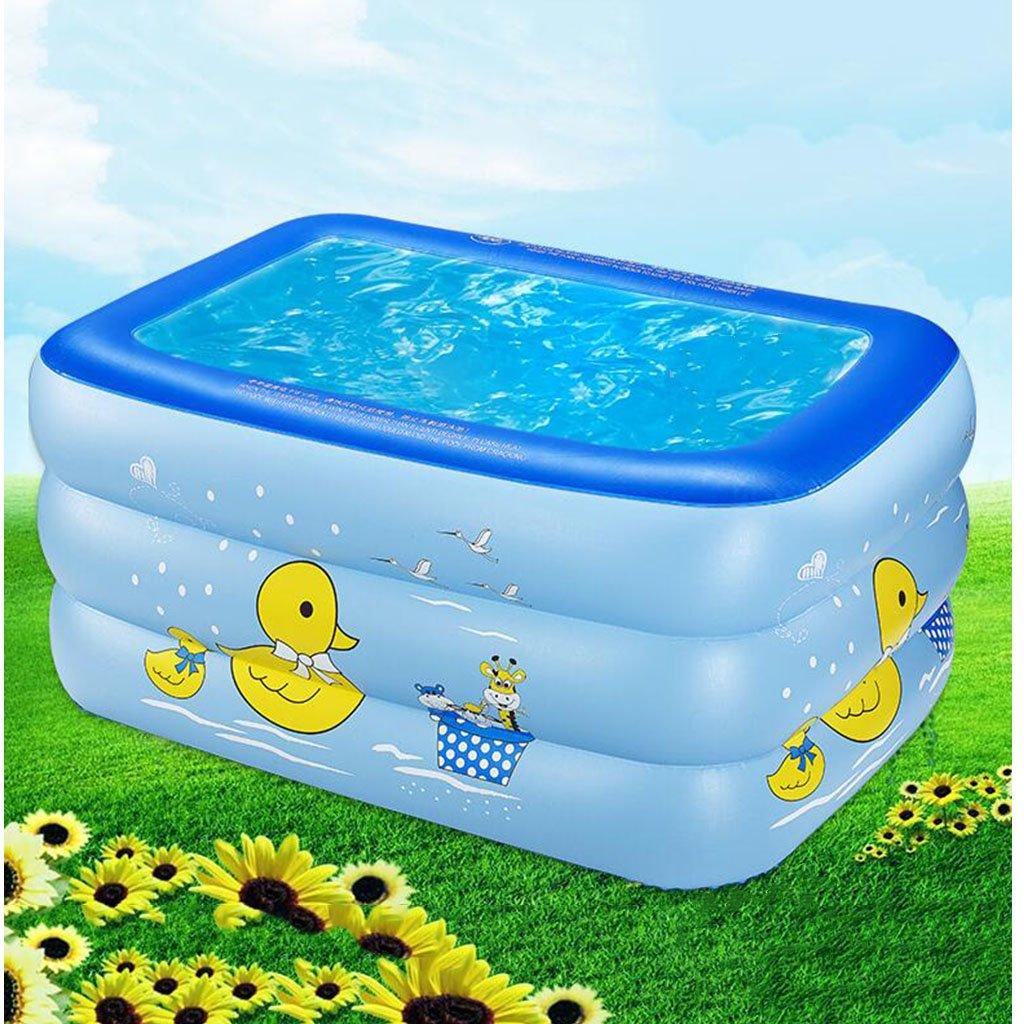 A YZ Bassin gonflable pour enfants Bassin infantile pour adultes Piscine pour adultes (taille   B)
