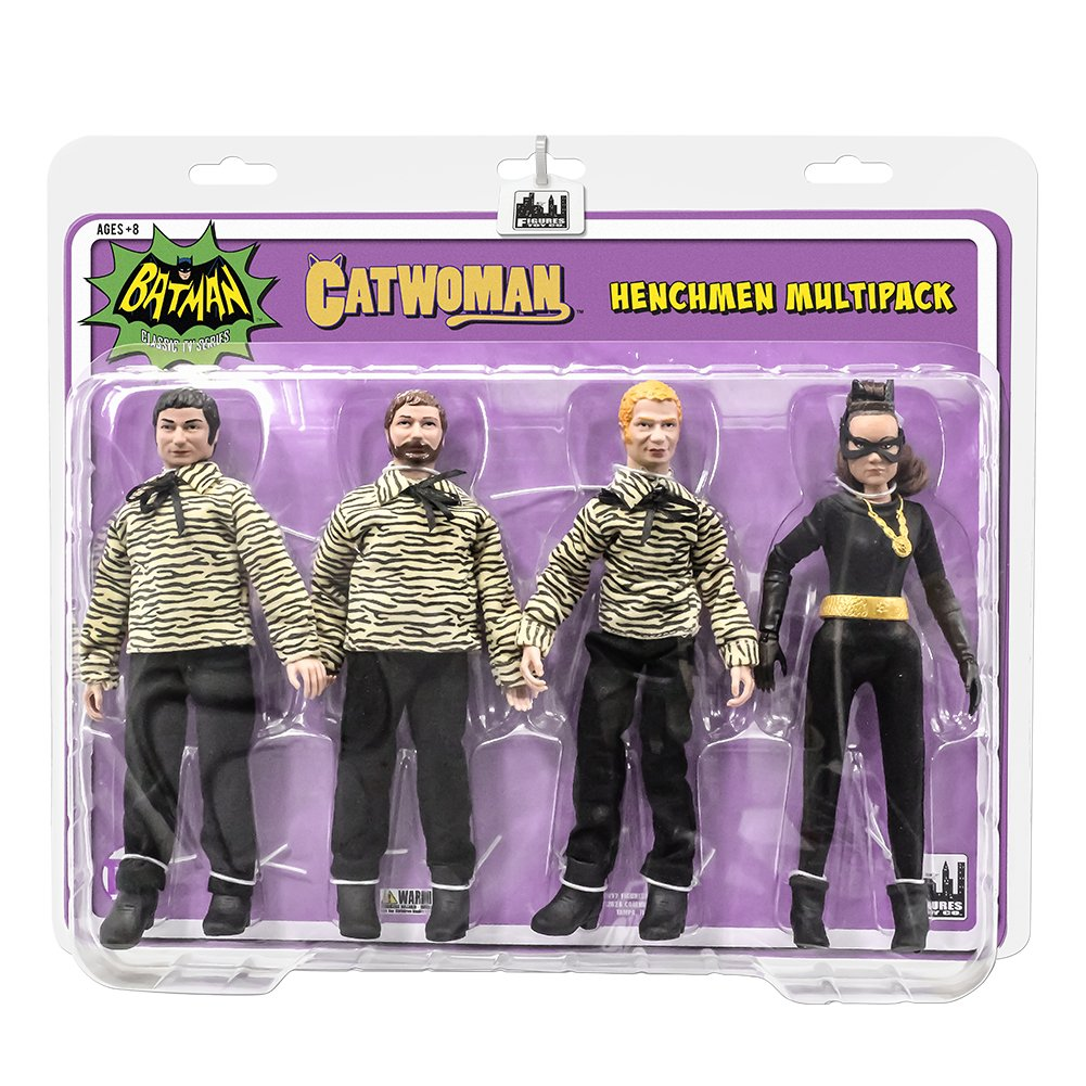 Batman Classic TV Series Action Figures The Riddler Henchman Four-Pack