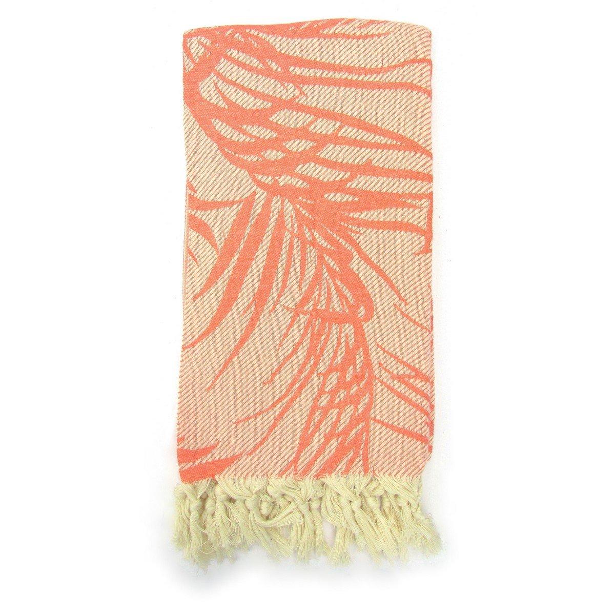 Rojo Granada jungla 100% algodón Jacquard turco toalla de baño: Amazon.es: Hogar