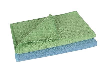 Juego de toallas de microfibra premium de suelo 2 piezas, alta gama de estructura de