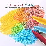 Hulee Arts Natural Beeswax Crayon, Handmade by Non