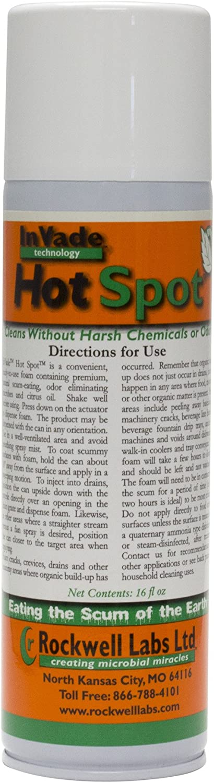 Rockwell Invade Hot Spot Bio Foam 16 oz (2 cans)
