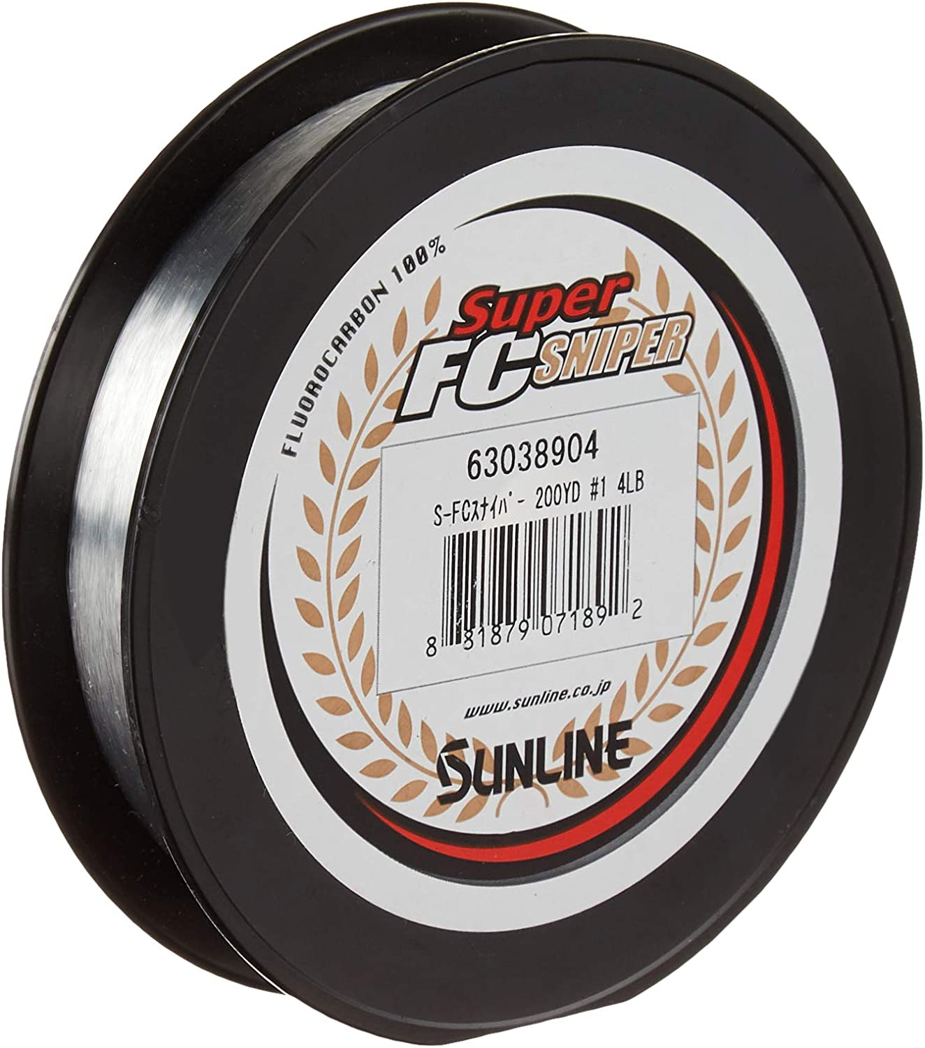 SUNLINE fluorocarbon line shooter sniper 100m 18lb Natural Fishing Line Clear