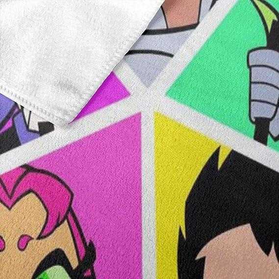Zachary Sherman Cartoon Teen Titans Go Robin - Toalla de baño antibacteriana, 130 x 80 cm: Amazon.es: Hogar