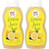MIE Lemon Juice Concentrate, 200ml (Pack of 2)