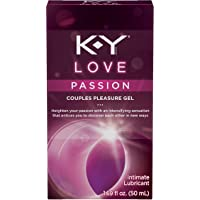 Personal Lubricant, K-Y Love Water-based Lubricant, 1.69 oz., Personal Lube For Women That Will Bring Tingling…