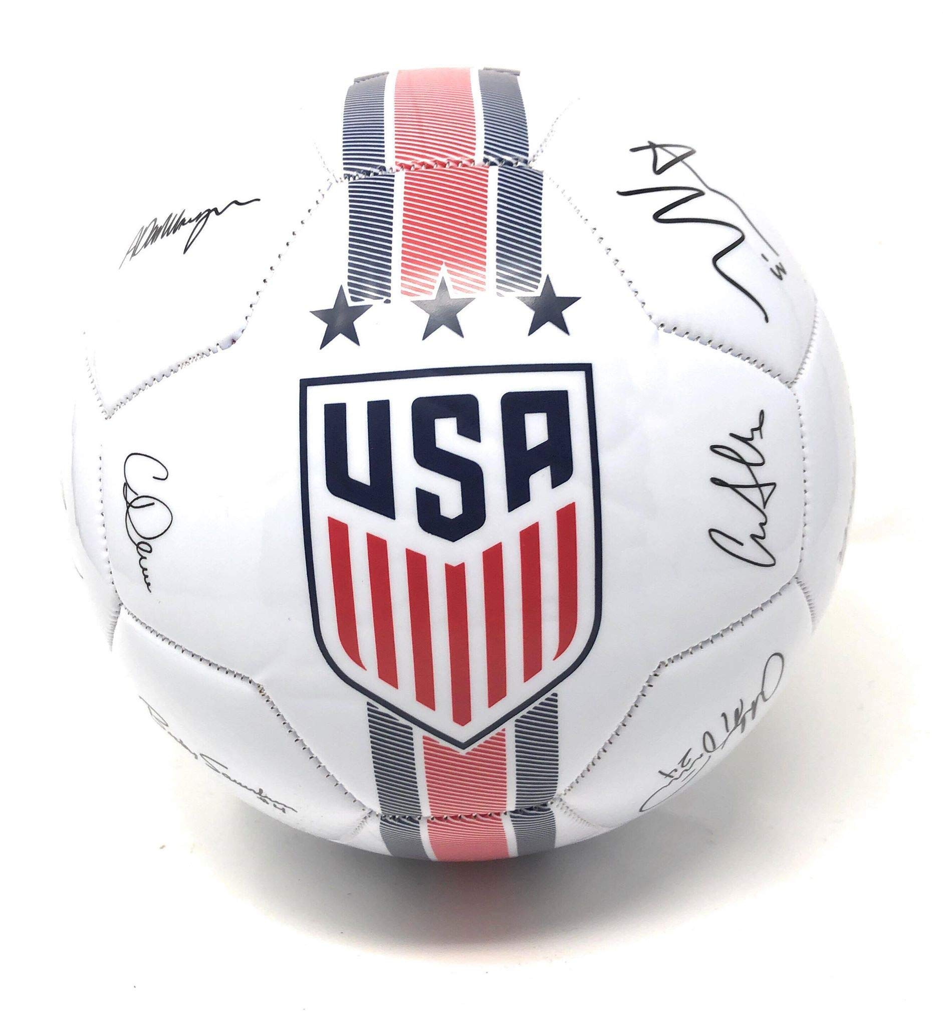 USA Soccer Ball Size 5 Signature Official Licensed USWNT United States National Team USMNT - Great for Players, Trainers, Coaches Gift