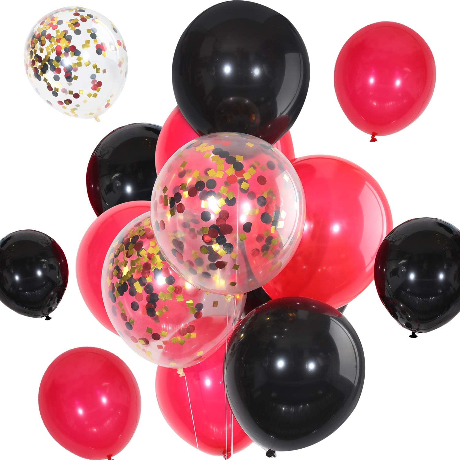 """Pack of 10-12/"""" Latex Pirate Balloons Happy Birthday Party Decoration"""