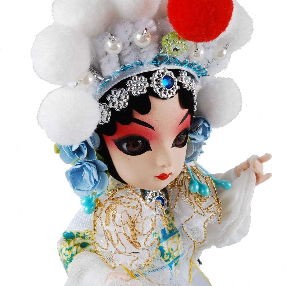 Bai Suzhen NW Chinese Peking Opera Doll Traditional Peking Opera Doll Cute Dolls Folk Handicrafts Mascots Souvenir Gift Ancient Chinese Dolls