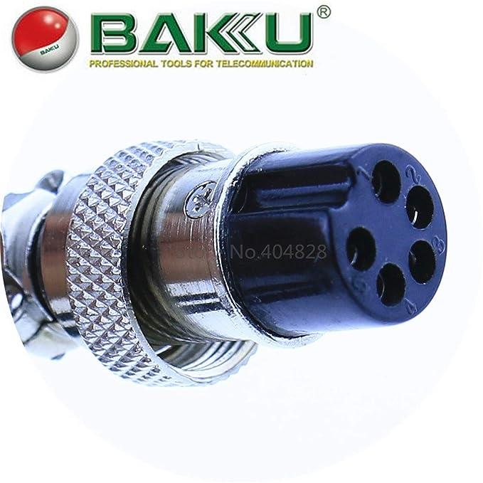 Accesorio BAKU original: manija de estación de retrabajo (soldador) para BK-601 / BK-878 / BK-909 / BK-603A: Amazon.es: Bricolaje y herramientas