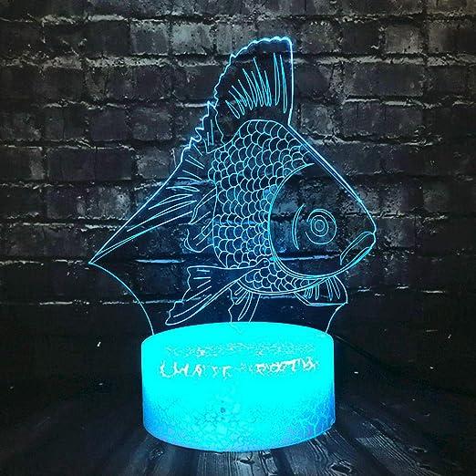 Luces De Noche Para Adultos, Souvenirs,Goldfish 3D Crack ...