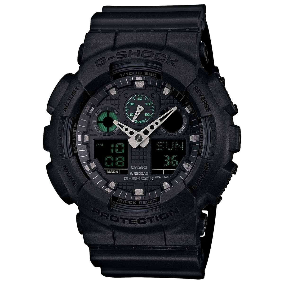 Casio Men's GA100MB-1A G-Shock Multifunction Watch