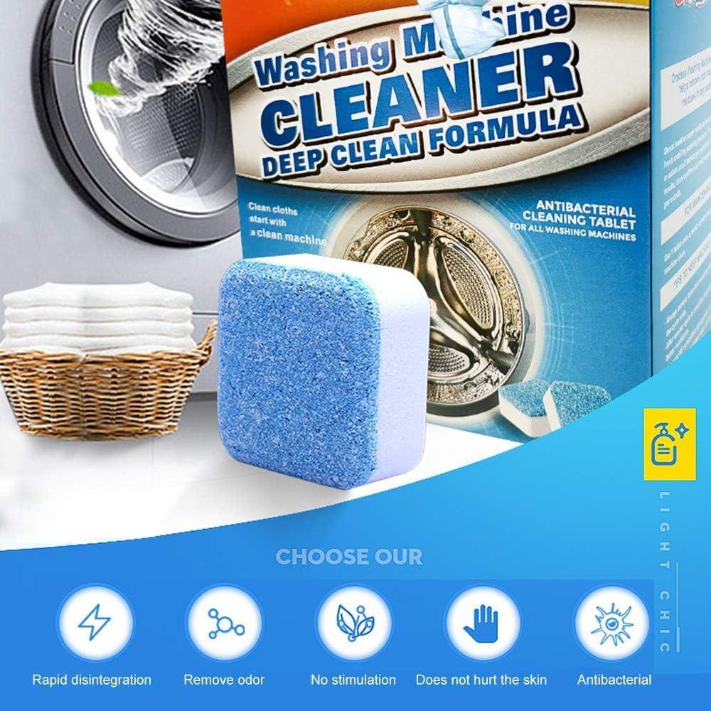 Tabletas de limpieza de tanques de lavadora Aycort, tabletas para ...