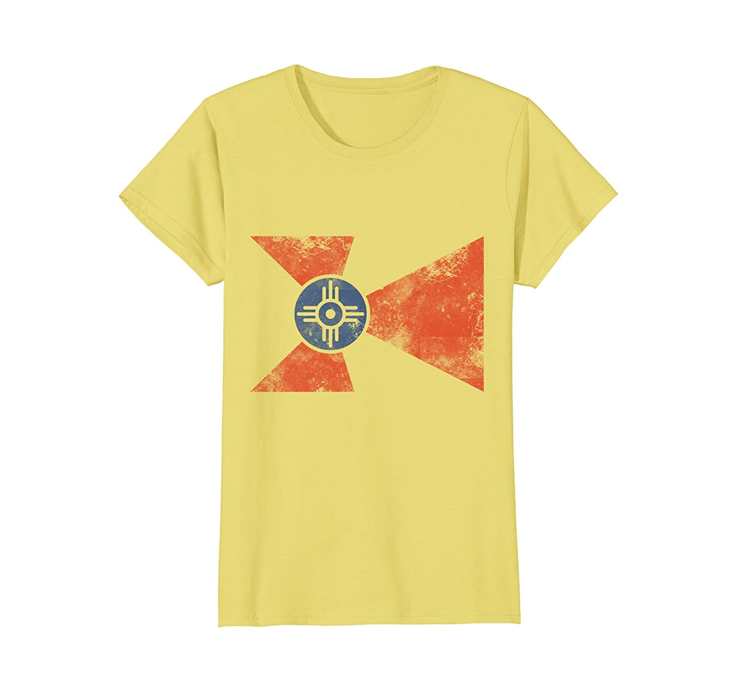 Amazon Wichita Kansas Flag T Shirt Clothing