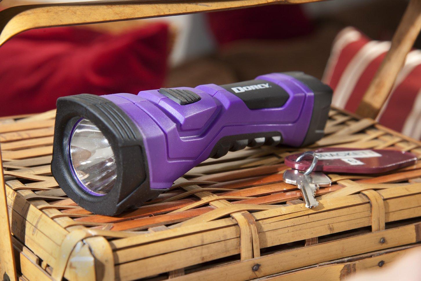 Dorcy International 41 4753 Pink 41-4753 Dorcy 190-Lumen CyberLight Weather Resistant LED Flashlight with Nylon Lanyard