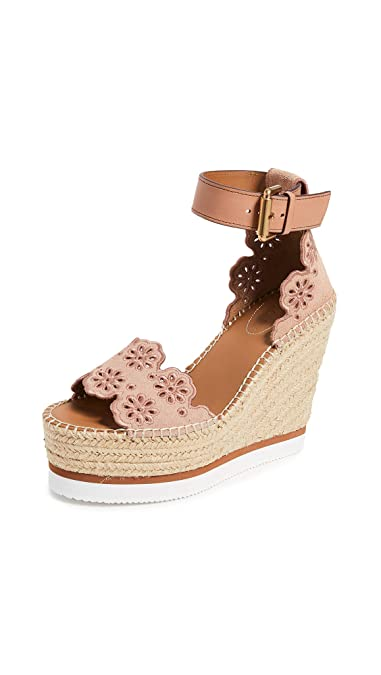76f8e2be1fd Amazon.com: See by Chloe Women's Glyn Wedge Espadrilles: Shoes