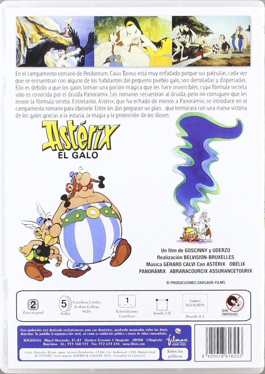 Astérix el galo [DVD]: Amazon.es: Ray Goossens: Cine y Series TV