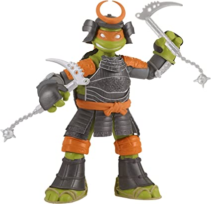Teenage Mutant Ninja Turtles Samurai Michelangelo Basic Action Figure