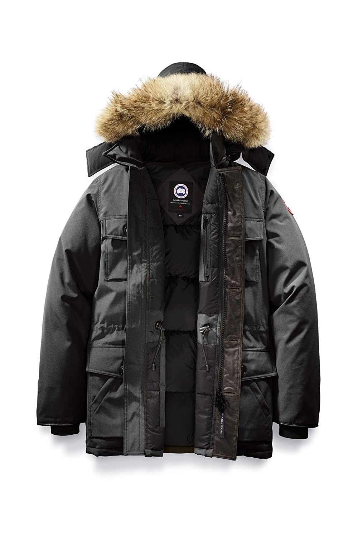 (カナダグース) GOOSE CANADA GOOSE メンズ Banff 4074M Parka Parka Men's Style # 4074M [並行輸入品] B0791ZMC2G M|Graphite Graphite M, DANJO バッグ 財布 シューズの通販:436a2a6b --- jpworks.be
