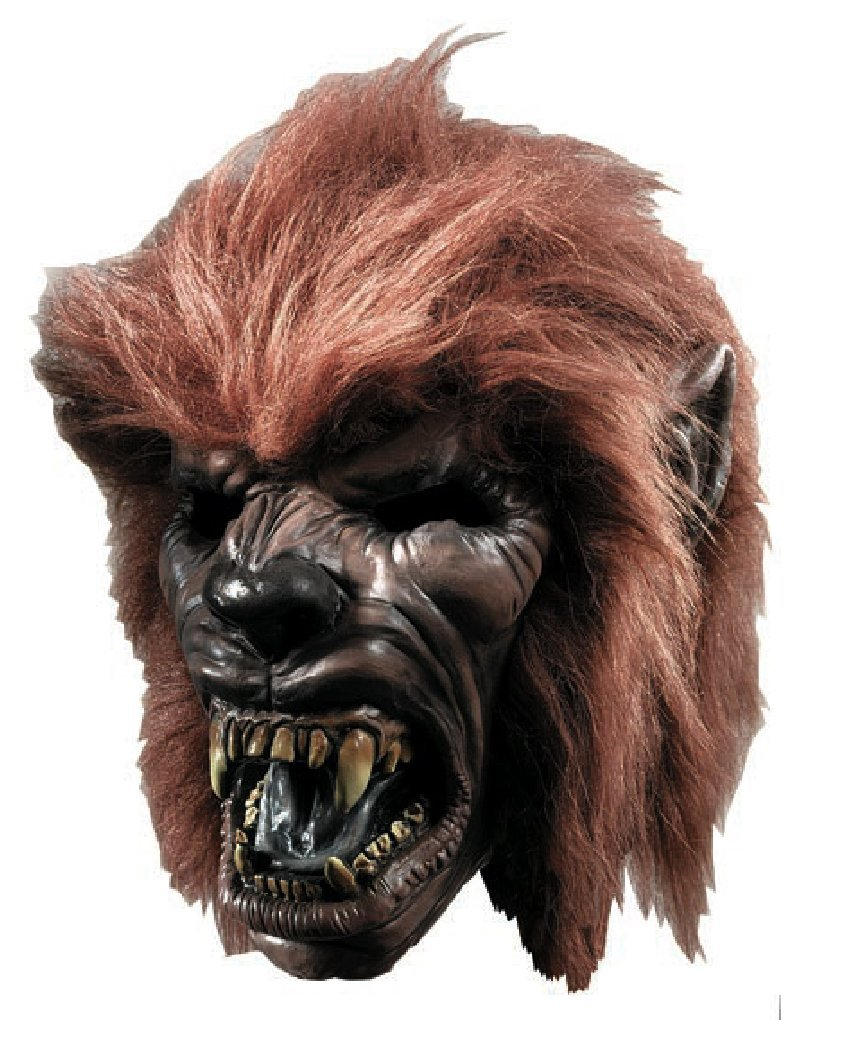amazoncom rubies costume co werewolf with hair mask costume toys games - Halloween Werewolf