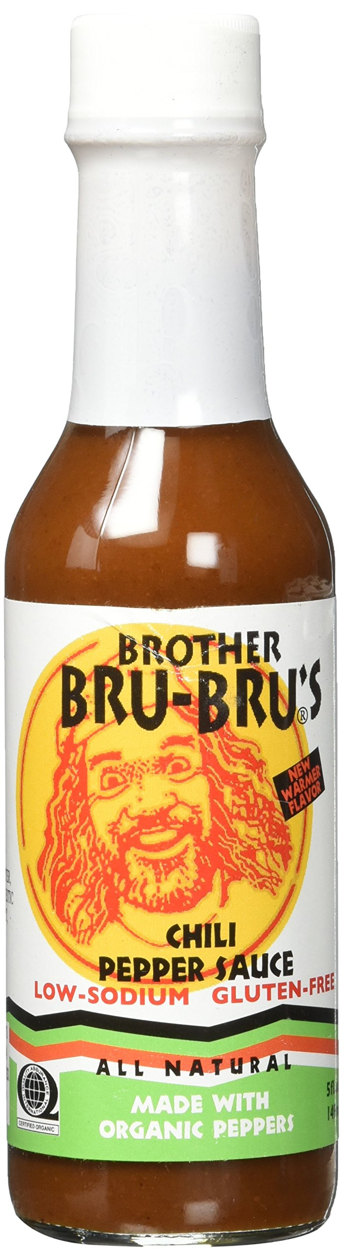 Brother Bear Bru's Organic African Chili Pepper Sauce Spice, 5 Ounce