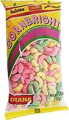 Prodiana Corn Brigths 4.76 oz - Elotitos Cubiertos de Vainilla de Colores (Pack of 1
