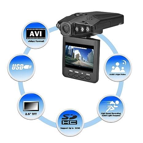 Super Legend - Grabadora de vídeo, cámara de vídeo a prueba de accidentes DVR para