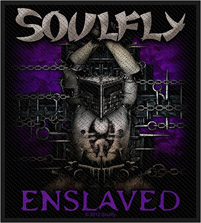 /Enslaved Patch/ Soulfly Badges/ /tiss/ée /& Licence.