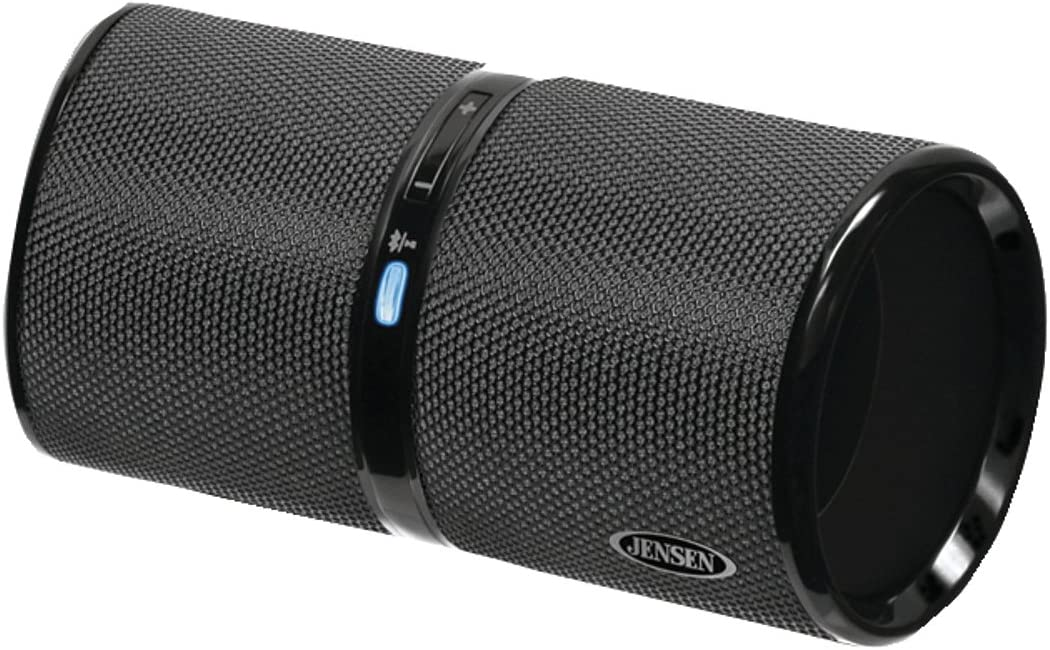 Jensen SMPS-622 Bluetooth Wireless Rechargeable Stereo Speaker (Black)