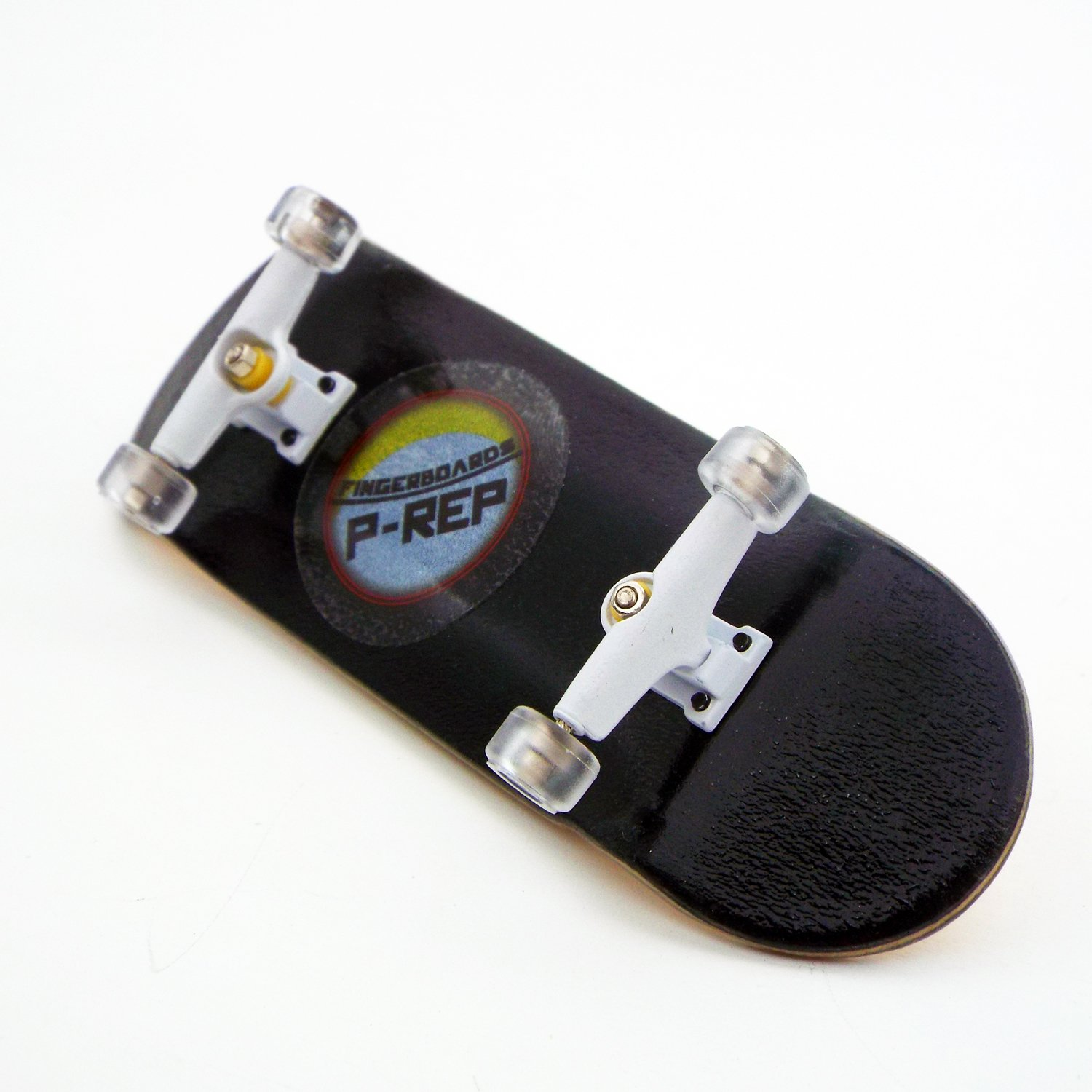 Peoples Republic P-REP 2017 Black Complete Wooden Fingerboard with Basic Bearing Wheels - Starter Edition