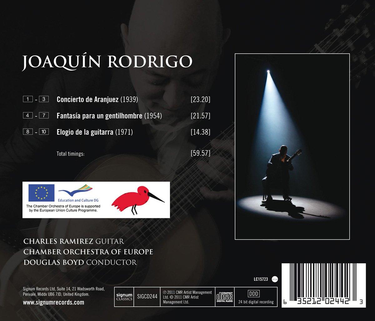 Rodrigo : Concerto dAranjuez / Charles Ramirez: Charles Ramirez ...