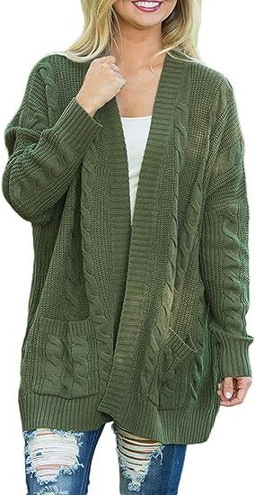 Women Plus Size Shawl Collar Open Front Sweater Cardigan