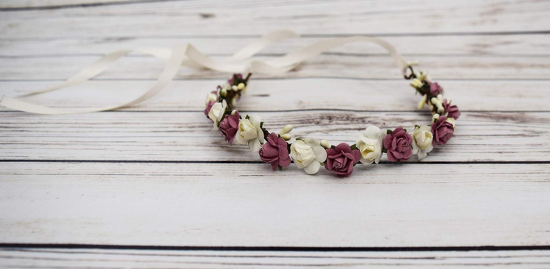 Dusky Pink Vintage Rose Hair pins,Bridesmaid,Flower girl,Festival,Accessories