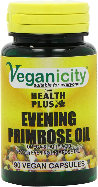 Veganicity Vegan Evening Primrose Oil 500mg