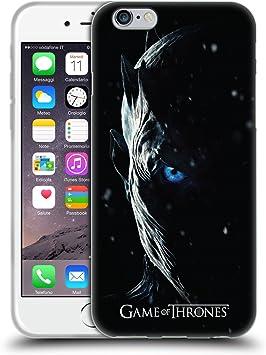 Head Case Designs sous Licence Officielle HBO Game of Thrones Night King Saison 7 Art Clé Coque en Gel Doux Compatible avec Apple iPhone 6 / iPhone 6s