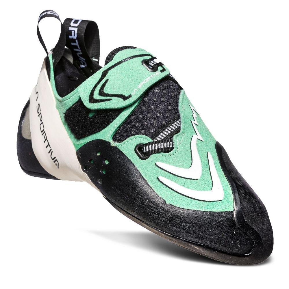La Sportiva Futura Women's Climbing Shoe, Jade Green/White, 33 by La Sportiva