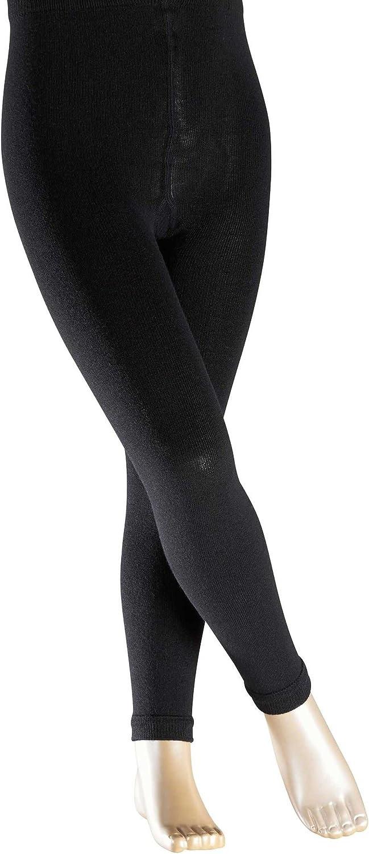 Laine M/érinos FALKE Active Warm Leggings Mixte Enfant Semelle En Peluche Plusieurs Coloris Du 2 Au 16 Ans 1 Paire