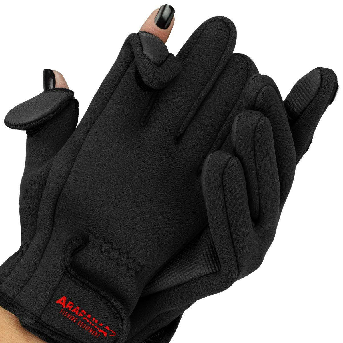 Neopren Angel Handschuhe Fishing Gloves Thermo Angelhandschuhe Spin Anglerhandschuhe