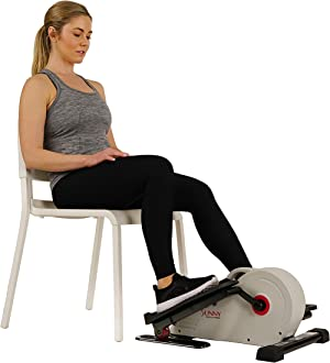 Sunny Health & Fitness Magnetic Underdesk / Standing Portable Elliptical Machine