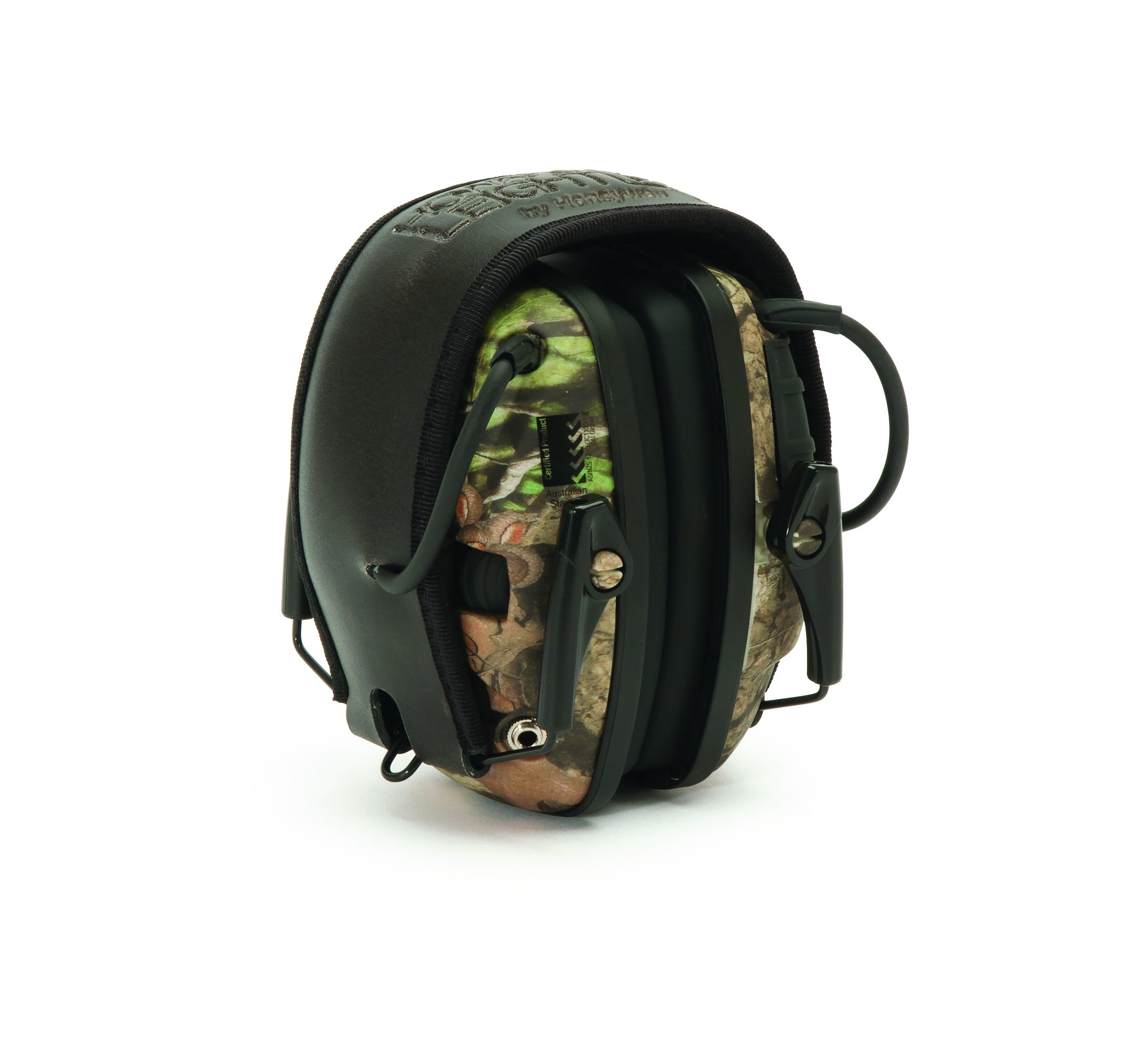 Howard Leight by Honeywell Impact Sport Sound Amplification Electronic Shooting Earmuff, Camo (R-01530) by Howard Leight