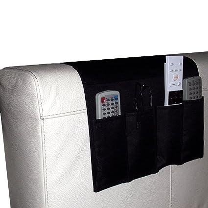 Captelec Organizador con autobloqueo para reposabrazos de sofá