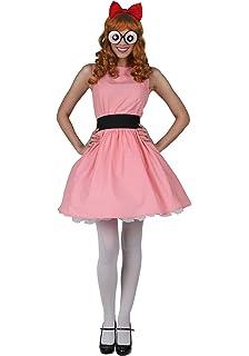 Childs size medium 8 10 bubbles powerpuff girls costume we ship blossom powerpuff girl fancy dress costume x small sciox Choice Image