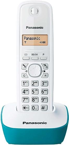 Panasonic KX-TG1611FRW - Teléfono Fijo inalámbrico DECT, Color Azul [Importado de Francia] [versión importada]: Amazon.es: Electrónica