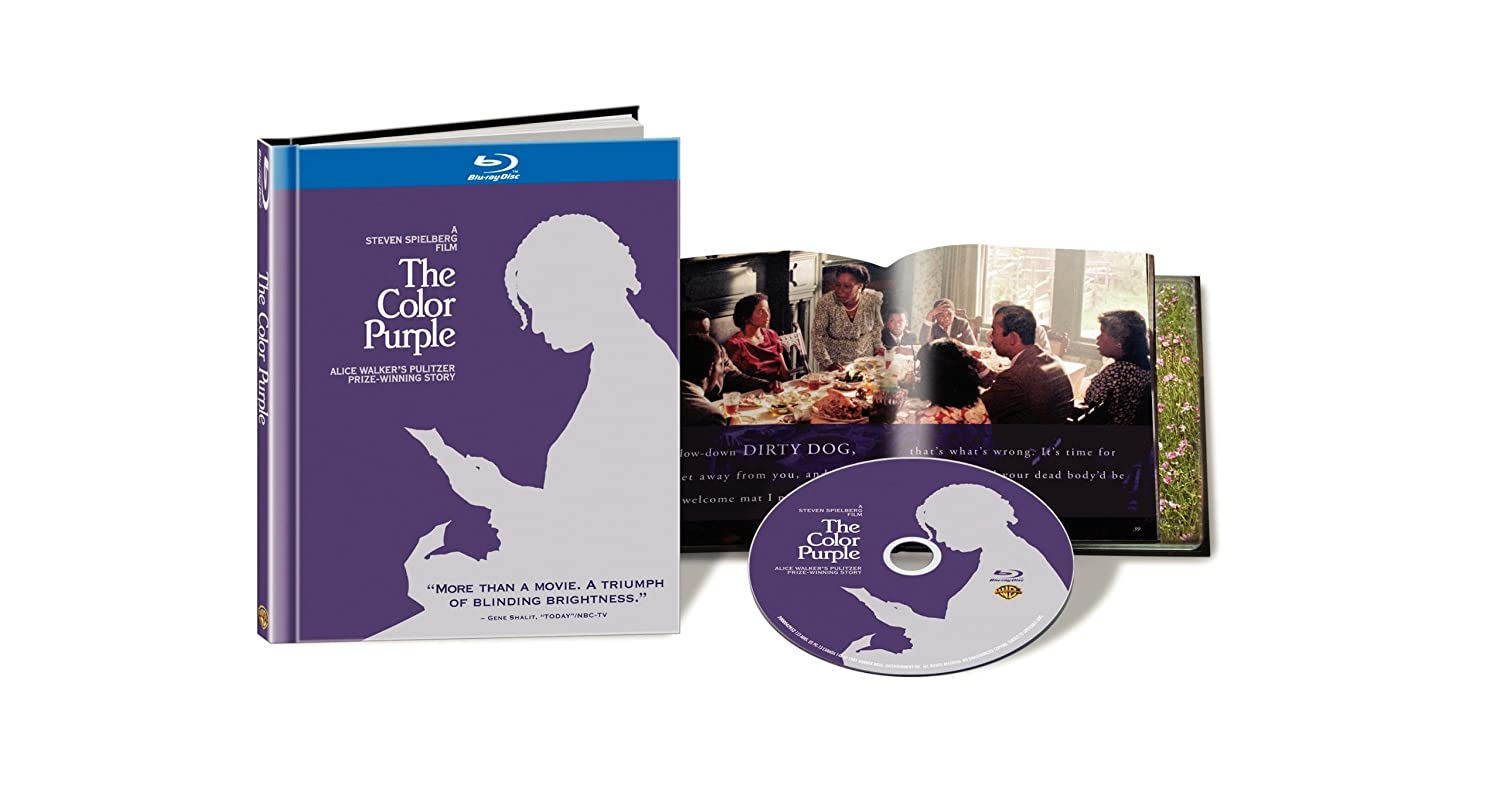amazoncom the color purple blu ray book whoopi goldberg danny glover adolph caesar margaret avery rae dawn chong oprah winfrey akosua busia - The Color Purple By Alice Walker Online Book