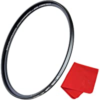 67mm X1 UV Filter For Camera Lenses - Ultraviolet Protection Photography Filter with Lens Cloth - MRC4, Ultra-Slim, 25 Year Support, Weather-Sealed by Breakthrough Photography