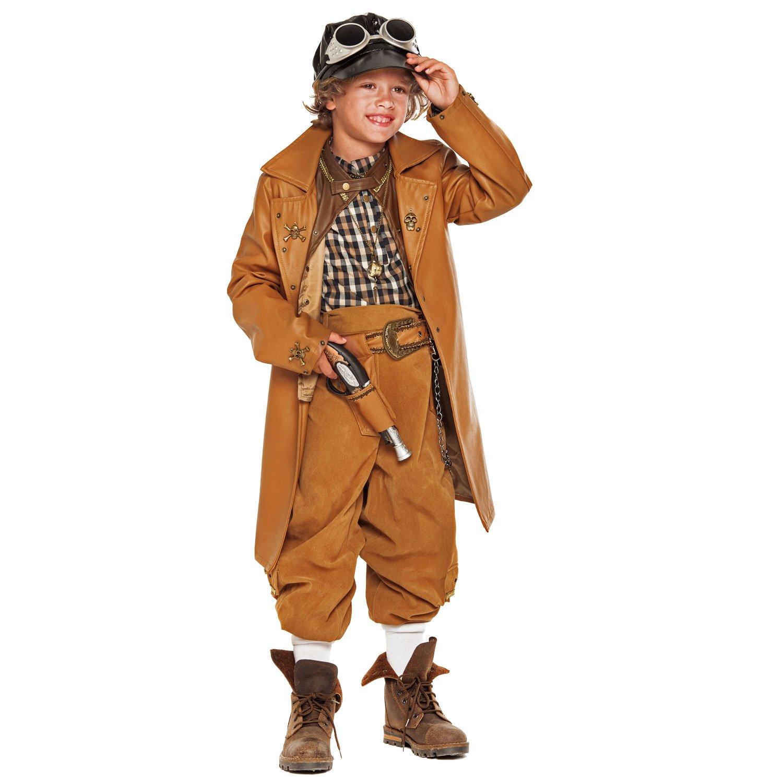 Unbekannt Disfraz de niño Steampunk Boy Deluxe Brown Incl. Muchos ...