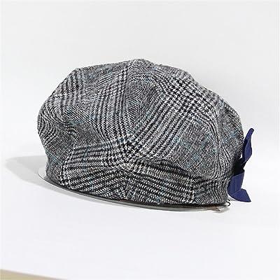 Automne et hiver bonnets en femme élégante élégante chapeau treillis résistant au vent garder chaud chapeaux ( couleur : # 3 )