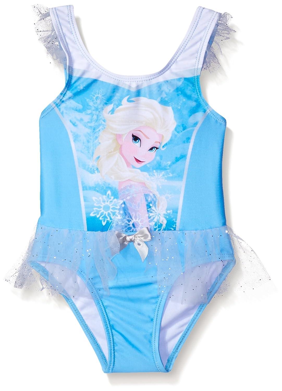 Traje de ba?o Frozen Elsa para ni?as peque?as, azul, 2T ...